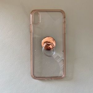 Iphone case for IPhone Xs Max with ring holder
